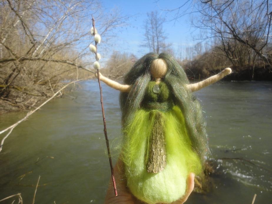Die Weidenfrau
