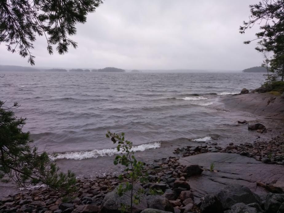 Wie kommt die Wildfrau auf die schwedische Insel – derSTURM