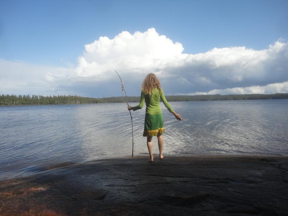 Schweden 2019 – Die Flatterplane, was mach ich jetzt auf der Insel oder das Eintauchen insJetzt